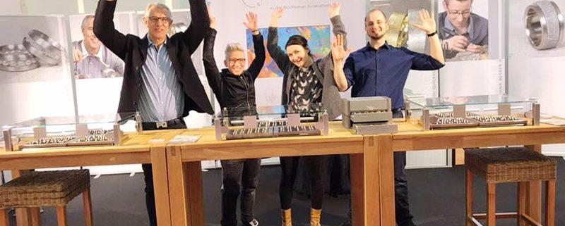 Hochzeitsmesse in Essen- Goldschiede Quickels Live dabei